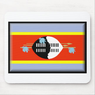 Swaziland Flag Mouse Mats