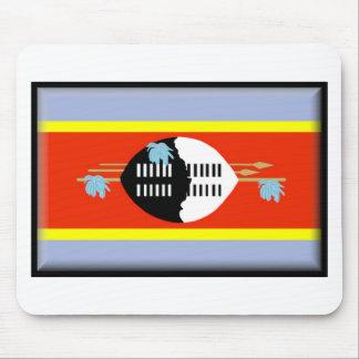 Swaziland Flag Mouse Pads
