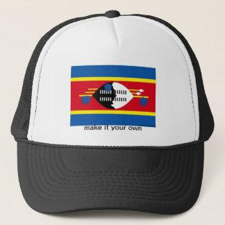 Swaziland flag souvenir hat