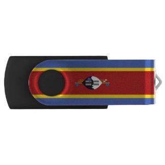 Swaziland Flag Swivel USB 2.0 Flash Drive