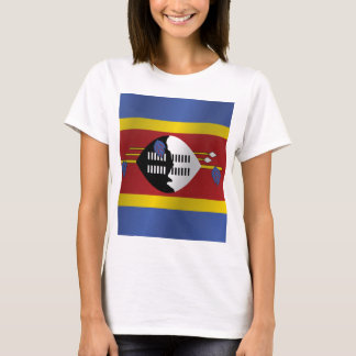 Swaziland flag T-Shirt