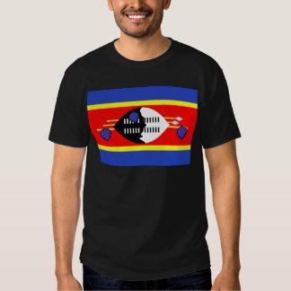 Swaziland Flag Tee Shirt