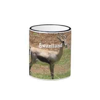 Swaziland Gazelle Coffee Mugs