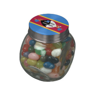 Swaziland Jelly Belly Candy Jar