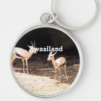 Swaziland Key Chain