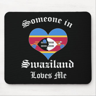 Swaziland Mouse Pad