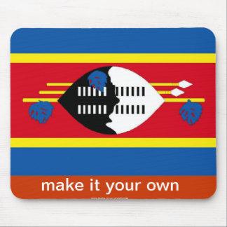 Swaziland mousepad