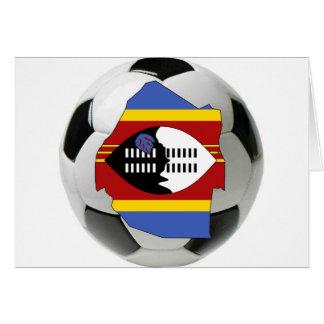 Swaziland national team greeting card