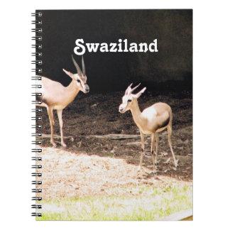 Swaziland Spiral Notebooks