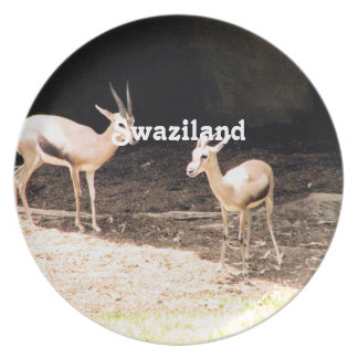 Swaziland Dinner Plate