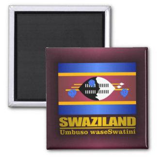Swaziland Pride Square Magnet