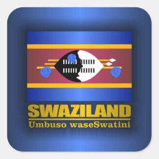 Swaziland Pride Square Sticker