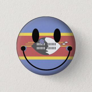 Swaziland Smiley 3 Cm Round Badge