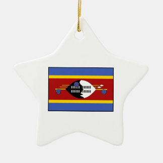 Swaziland – Swazi Flag Christmas Tree Ornaments