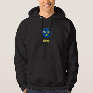 SWE tre kroner hoodie