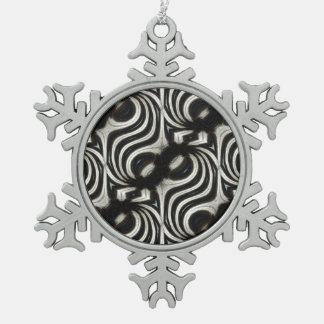 Swean Pewter Snowflake Decoration
