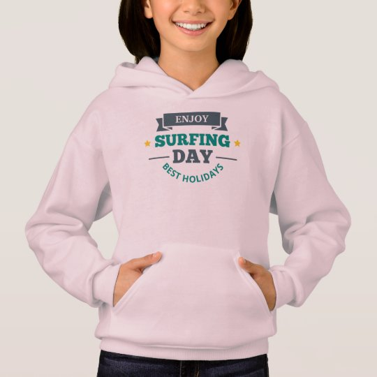 Sweat A Hood Girl Surfing