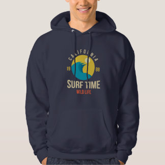 Sweat A Hood White Man BASIC Surfing Hoodie