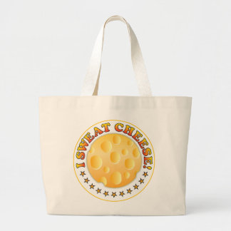 Sweat Cheese Tote Bags