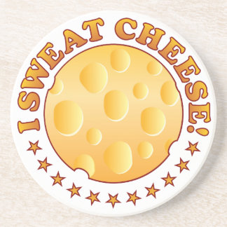 Sweat Cheese Brown Drink Coaster