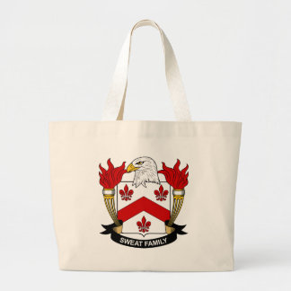 Sweat Family Crest Canvas Bag