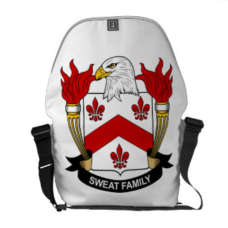 Sweat Family Crest Courier Bag