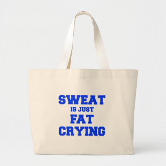 sweat-is-just-fat-crying-fresh-blue.png canvas bag