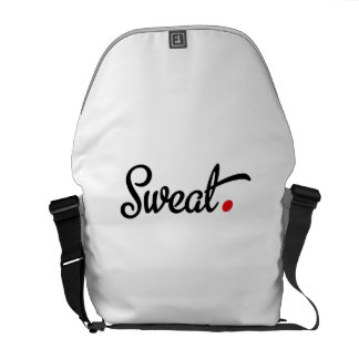 sweat messenger bags