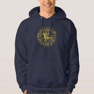 Sweat Navy Seal of the Temple Hoody
