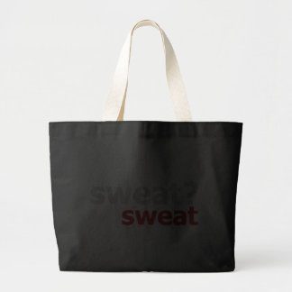 Sweat?  No Sweat. Canvas Bags