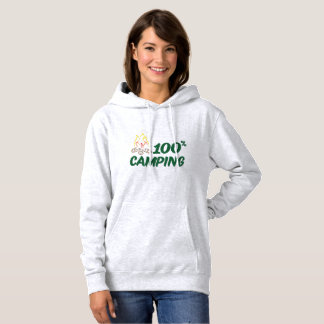 Sweat shirt for woman 100% Camp-site