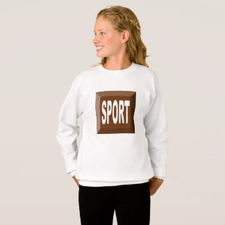 SWEAT SHIRT SPORT CHOCOLATE