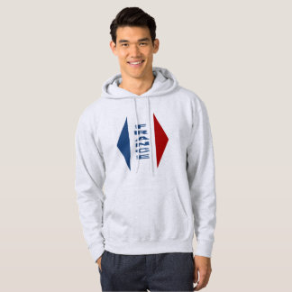 Sweat with basic hood ashes FRANCE Hoodie