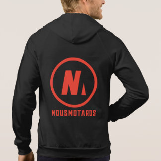 Sweat with hood Nousmotards Man/Woman Hoodie