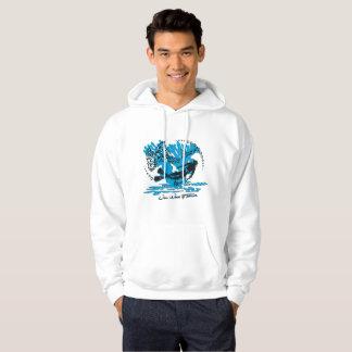 Sweat with hood plunger man shark hoodie
