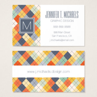 Sweater Background 2 Business Card