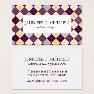 Sweater Background Business Card