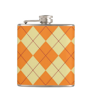 Sweater Background Hip Flask