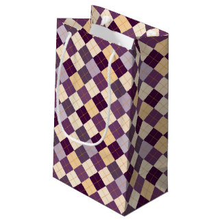 Sweater Background Small Gift Bag