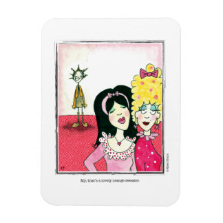 SWEATER cartoon by Ellen Elliott Rectangular Photo Magnet
