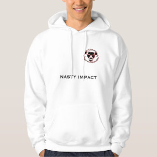 Sweater NASTY white IMPACT man