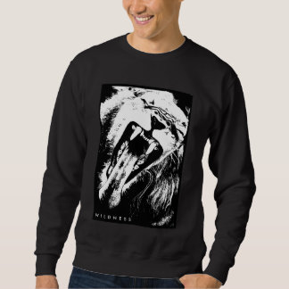 Sweater shirt wild lion