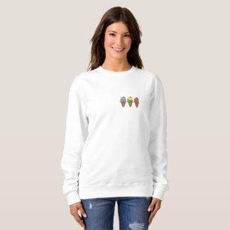Sweater shirt without hood Hoists Cream