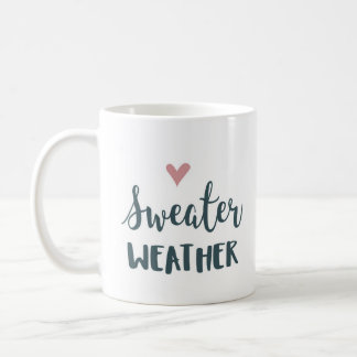 Sweater Weather mag Coffee Mug