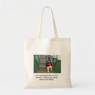 Sweating Bullets for Halloween Budget Tote Bag