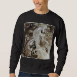 Sweatshirt: Alphonse (Alfons) Mucha illustration Sweatshirt