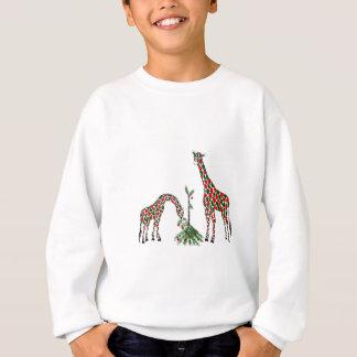 Sweatshirt - Christmas Giraffes