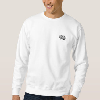Sweatshirt dice logo front GAME ON back.