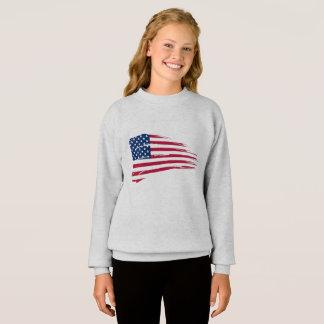 Sweatshirt Flag United State
