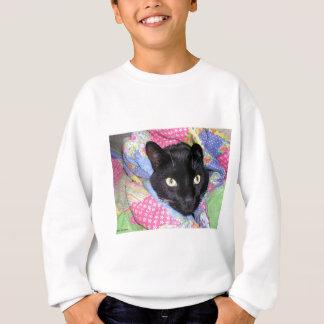 Sweatshirt: Funny Cat wrapped in Blankets Sweatshirt